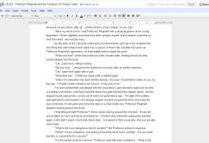 My new MMO obsession - NaNoWriMo