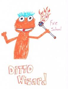 Ditto Wizard Fan Art!