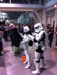 Stormtrooper and GLaDOS