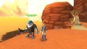 Shark and Saber