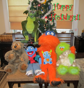 Happy Holidays from Ditto and Friends!!