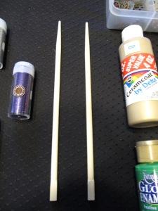 Materials - Chopsticks