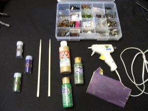 Wand Making Materials