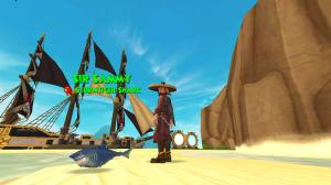 StormTiger Shark Pet in Pirate101!
